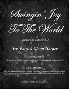 Joy to the World: For brass ensemble by Georg Friedrich Händel