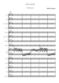 Petit Concert: Second movement by Helios D'Andrea