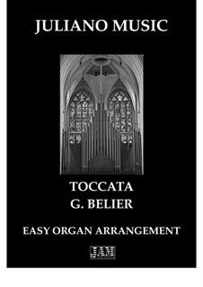 Toccata for Organ: Easy C version by Gaston Belier