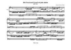 Mit Fried' und Freud' ich fahr' dahin, BWV 616: Für Orgel by Johann Sebastian Bach