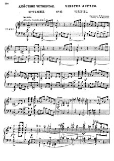 Fragments: Act IV for soloists, choir and piano by Mikhail Glinka