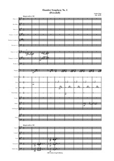 Chamber Symphony No.4 (Downfall): Chamber Symphony No.4 (Downfall) by Jordan Grigg