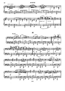Dance No.10 in E Major: First part, Second part by Johannes Brahms