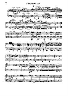 Symphony No.6 Le matin: For piano four hands by Joseph Haydn