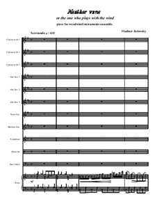 Weather vane: For wind ensemble by Vladimir Solonskiy