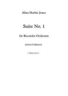 Suite No.1: 1. Allegro Giocoso by Allan Herbie Jones