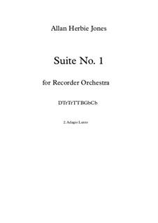 Suite No.1: 2. Adagio Lento by Allan Herbie Jones