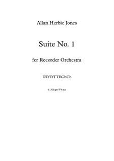Suite No.1: 4. Allegro Vivace by Allan Herbie Jones