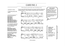 Vocal Warm-Ups for Busy Teachers: A set of five warm-up cards for choirs by Olivia Sparkhall