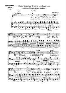 Circle of Songs, Op.24: No.5 Schöne wiege meiner Leiden (Lovely Cradle of My Sorrow) by Robert Schumann
