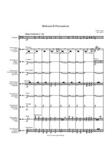Sinfonia di Percussioni: Sinfonia di Percussioni by Jordan Grigg