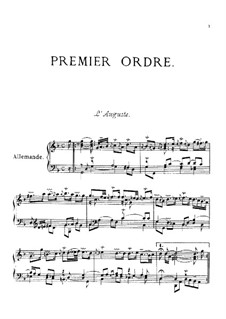 Ordres No.1-13: For piano by François Couperin