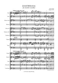 Jewish Reflections (for chamber ensemble): Jewish Reflections (for chamber ensemble) by Jordan Grigg