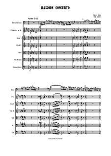Bassoon Concerto: Bassoon Concerto by Jordan Grigg