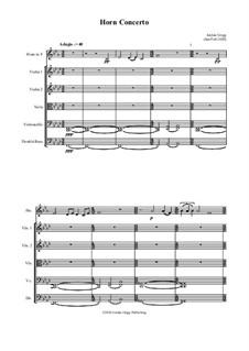 Horn Concerto: Horn Concerto by Jordan Grigg
