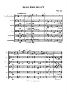 Double Bass Concerto: Double Bass Concerto by Jordan Grigg