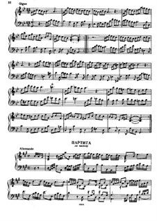 Partita in A Major, HWV 454: Partita in A Major by Georg Friedrich Händel