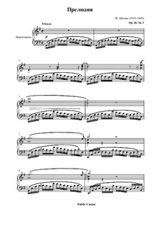 No.3 in G Major: For piano by Frédéric Chopin