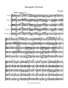 Springtime Overture: Springtime Overture by Jordan Grigg