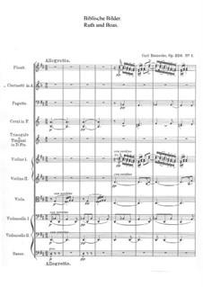 Biblische Bilder, Op.220: Nr.1 Boas und Ruth by Carl Reinecke