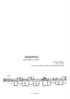 Аndantino: Аndantino by Johann Kropfgans