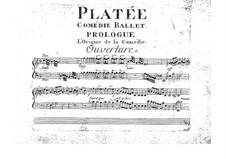 Platée, RCT 53: Full score by Jean-Philippe Rameau