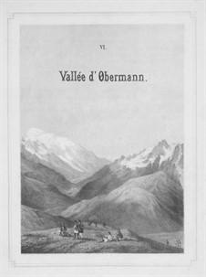 Première année. Suisse, S.160: No.6-9 by Franz Liszt
