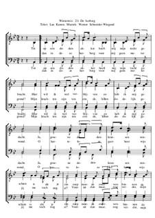 Winterreise, Nr.26-97, Op.23: Nr.86 De herberg by Werner Schneider-Wiegand