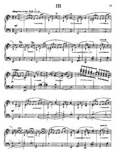 Three Waltzes, Op.31: Waltz No.3 by César Cui