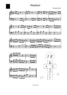 Huepfspiel: For piano by Michaela Kilian
