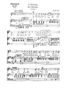 Three Poems, Op.30: No.3 Der Hidalgo (L'Hidalgo) by Robert Schumann