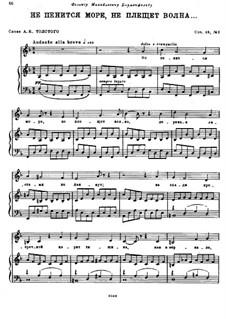By the Sea, Op.46: No.2 Not a Sound from the Sea by Nikolai Rimsky-Korsakov