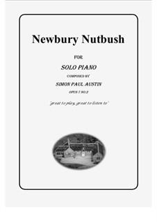 All of The Callum Collection, Op.7: No.2 Newbury Nutbush. Solo piano (difficult) by Simon Paul Austin