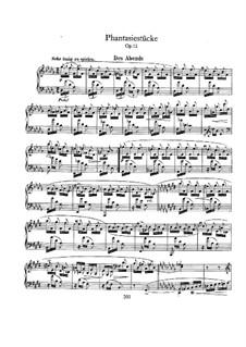 Fantastic Pieces, Op.12: Complete set by Robert Schumann