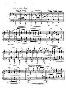 No.1 Danseuses de Delphes: For piano by Claude Debussy
