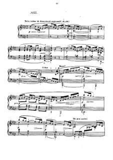 No.8 La fille aux cheveux de lin: For piano by Claude Debussy