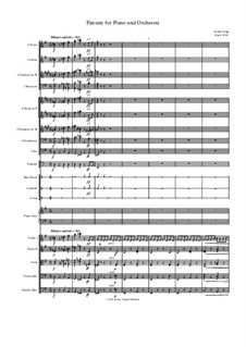 Fantasy for Piano and Orchestra: Fantasy for Piano and Orchestra by Jordan Grigg