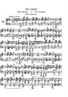 Lyric Pieces, Op.57: No.5 She Dances by Edvard Grieg
