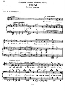 The Goat: The Goat by Modest Mussorgsky
