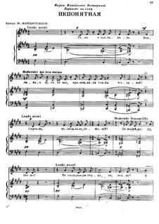 The Misunderstood One: The Misunderstood One by Modest Mussorgsky