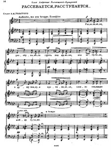 It Scatters and Breaks: It Scatters and Breaks by Modest Mussorgsky
