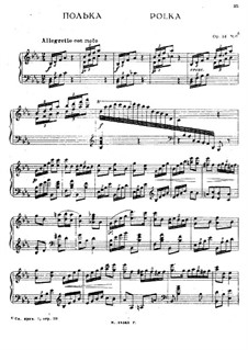 Le Bal. Fantasia for Piano, Op.14: No.4 Polka by Anton Rubinstein