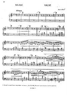 Le Bal. Fantasia for Piano, Op.14: No.6 Waltz by Anton Rubinstein
