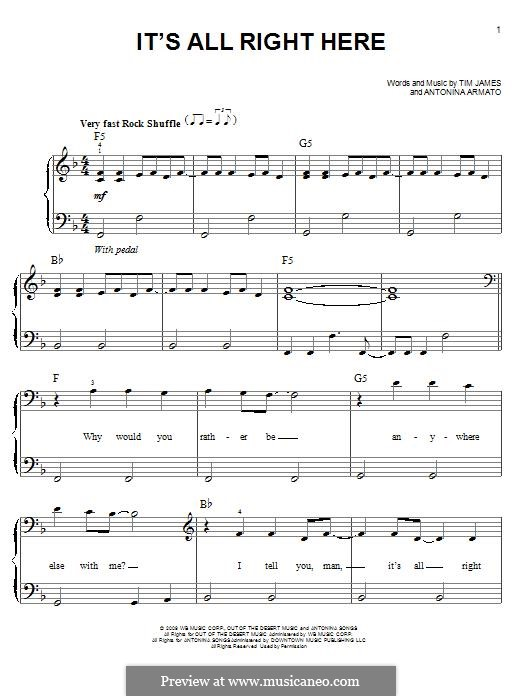 It's All Right Here (Hannah Montana): It's All Right Here (Hannah Montana) by Matthew Gerrard, Miley Ray Cyrus