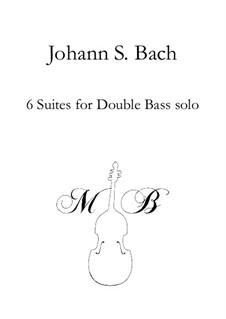 6 Harpsichord Suites: 6 Harpsichord Suites by Johann Sebastian Bach