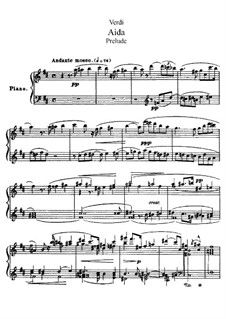 Fragments: Act I, for soloists, choir and piano by Giuseppe Verdi