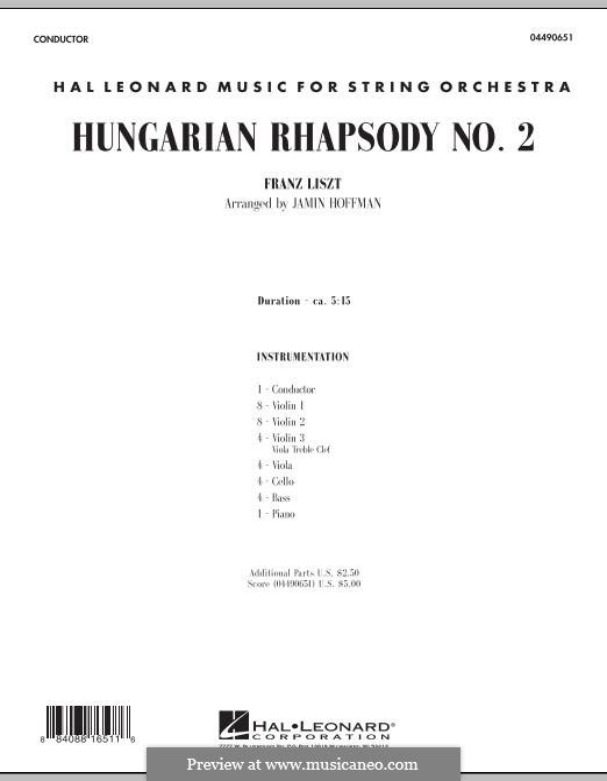 No.2 in C Sharp Minor, S.244: Full Score by Franz Liszt