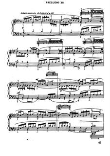 Prelude and Fugue No.12 in F Minor, BWV 857: For piano by Johann Sebastian Bach