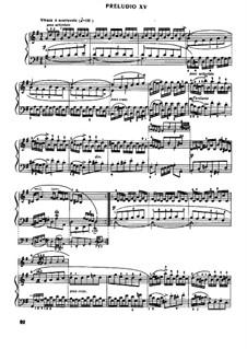 Prelude and Fugue No.15 in G Major, BWV 884: For piano by Johann Sebastian Bach