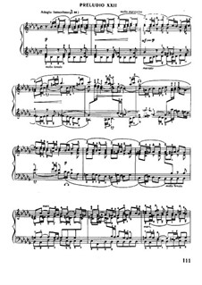 Prelude and Fugue No.22 in B Flat Minor, BWV 867: For piano by Johann Sebastian Bach